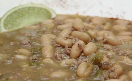 Get your lean protein in soup-style with this Wild Turkey White Chili Recipe.