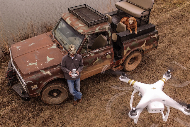 Trophy Clubs Against Combining Drones and Hunting
