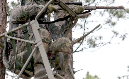 Tree-stand safety should always be on the minds of hunters before they hit the woods