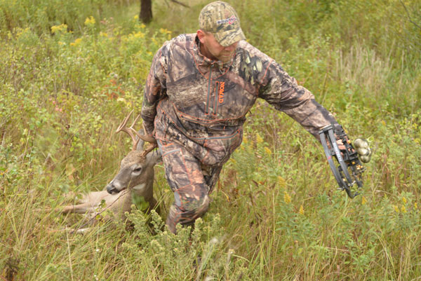 Recovering a mortally hit deer often involves gaining permission from a neighboring landowner throughout your trailing efforts. Having access to landowner information makes recovery time much faster.