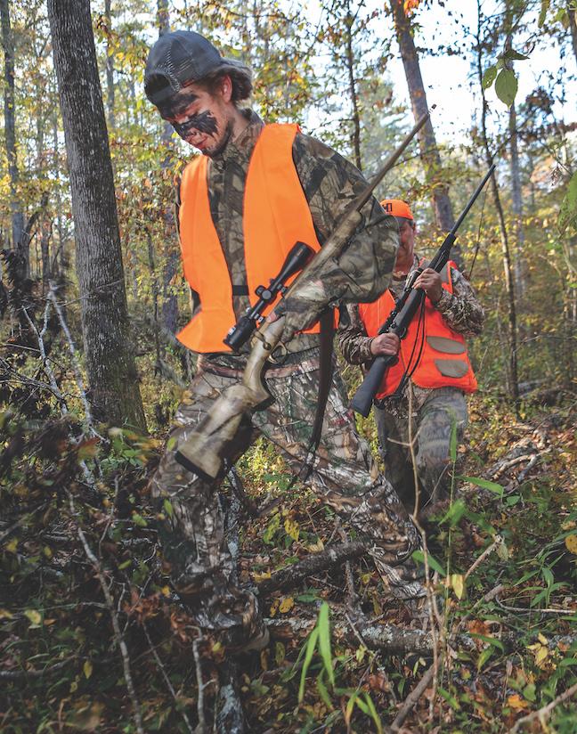 first-time deer hunter