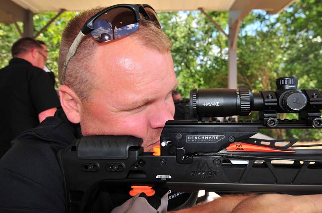 mission crossbows shooter