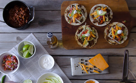 This isn't your typical taco recipe – swapping beef for bear will exceed your expectations.