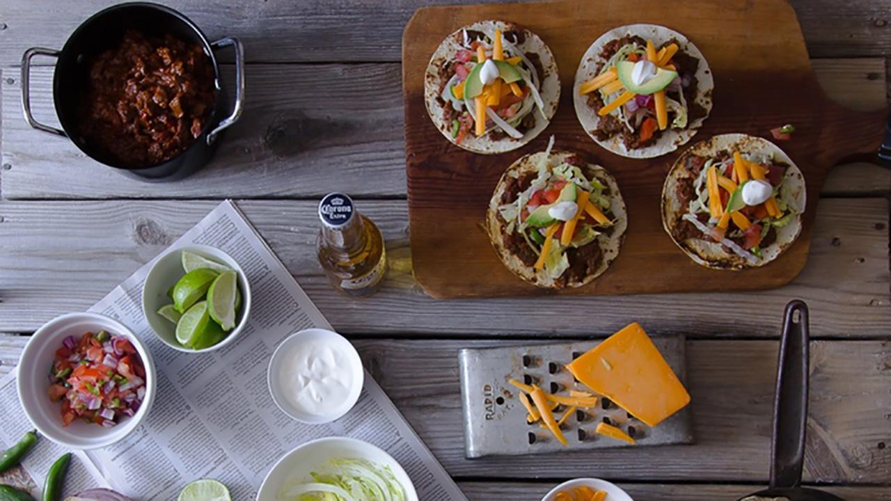 Wild Bear Tequila Chili Tacos Recipe