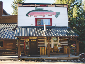 trout lodges