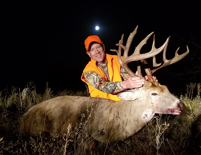 Sooner State Hunter Downs Another Massive Trophy Buck