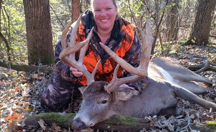 This 31-point, 216-pound buck was the largest deer Jim Wackler had ever shot. His best before last