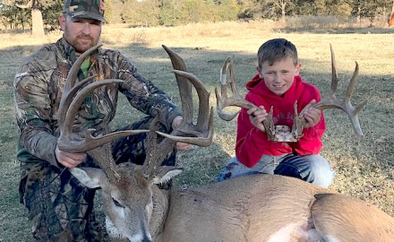 Coalgate, Okla. hunter John McCollum has enjoyed a dreamy month of October hunting for monster
