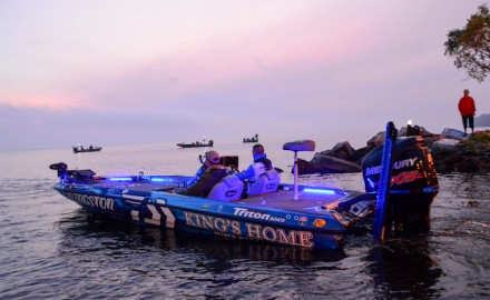 As Bassmaster Elite Series and MLF pro Randy Howell prepares for his annual November bass boat