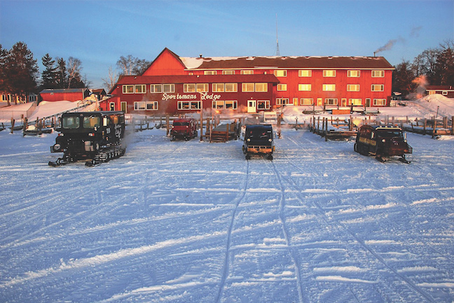Ice fishing lodges for the trip of a lifetime game fish for Wisconsin ice fishing resorts