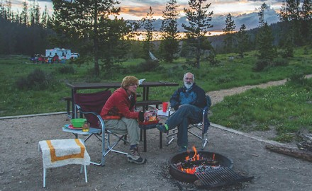Most states today offer parks that have excellent camping facilities, including lodges, cottages.