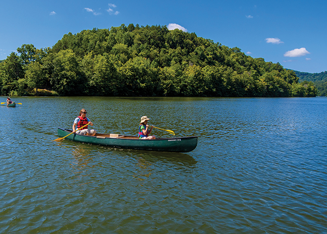 KY Vacation Lodge Canoe