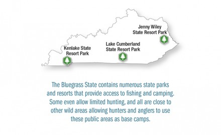 Photo Courtesy of Kentucky State Parks  In addition to Kentucky having a wide array of activities