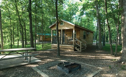 Missouri's state parks offer some great lodging opportunities.