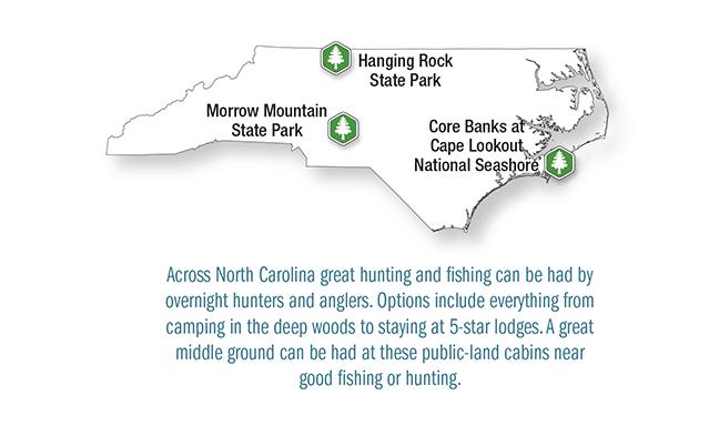 NC Vacation Lodge Map