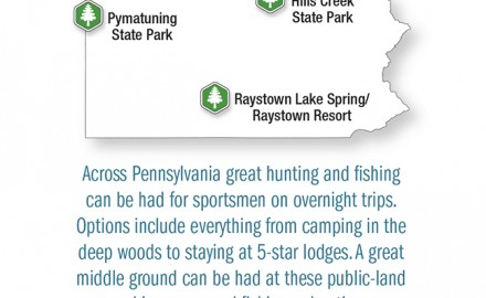 Pennsylvania has great trout fishing almost all year round. Photo Courtesy of Shutterstock  Even
