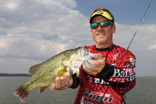 Early Scouting Prepares Anglers for Cold-Front Bass