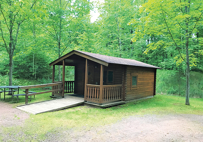WI Vacation Lodge Cabin