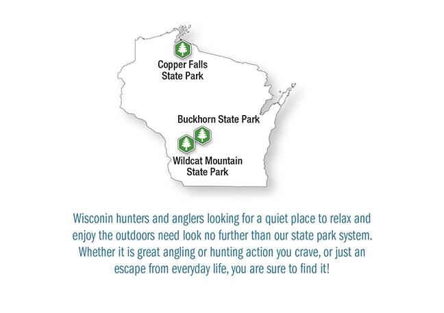WI Vacation Lodge Map