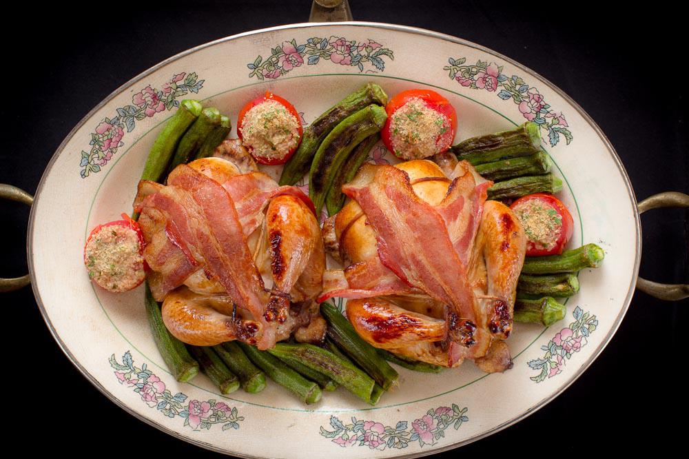 Bacon-Wrapped Poussin Recipe