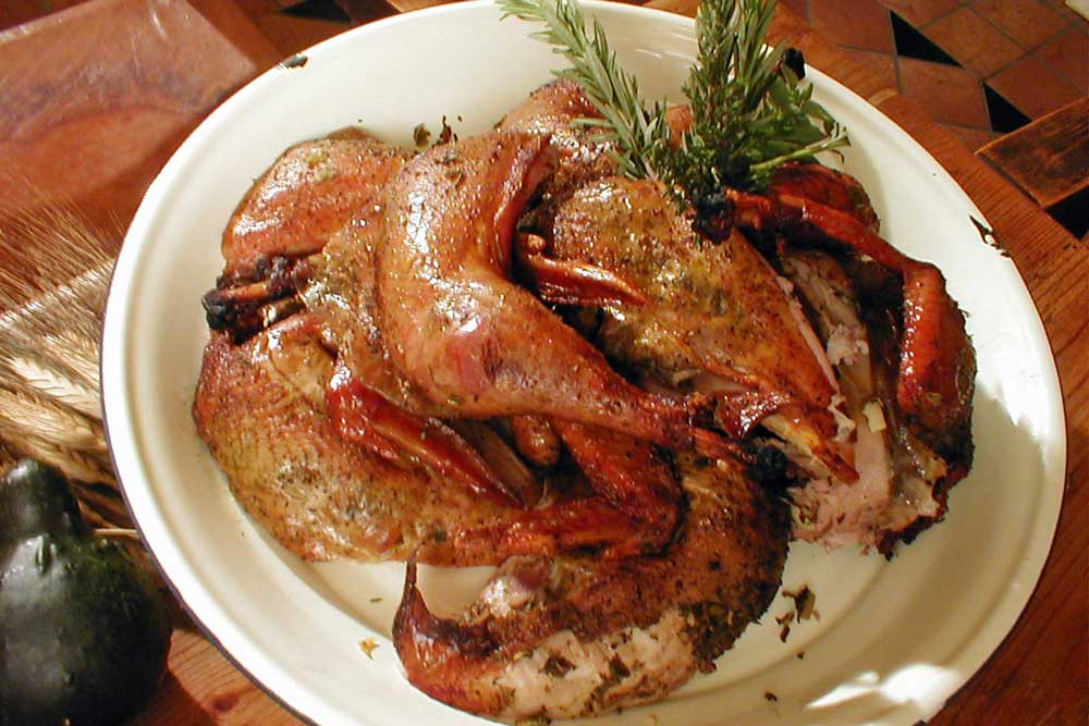 beer can roasted pheasant