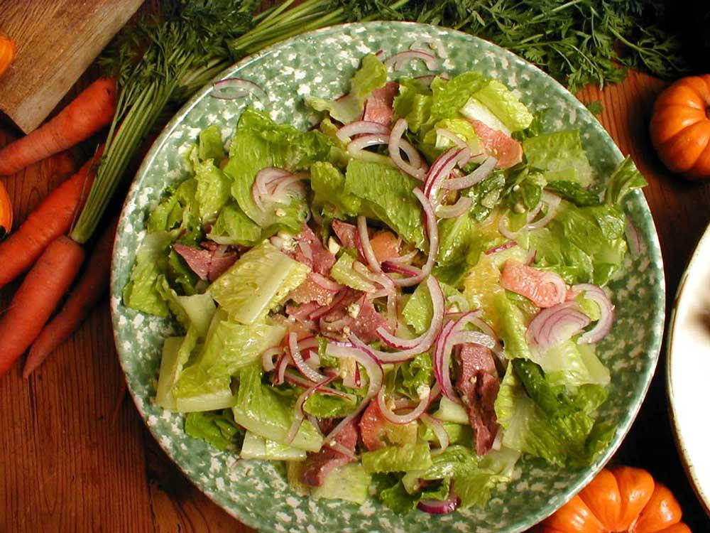 Easy Pheasant Caesar Salad Recipe