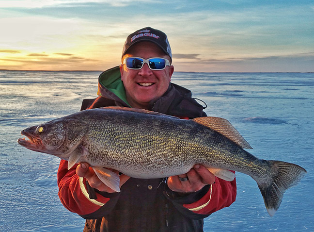 Fluorocarbon Line is Great Ice-Fishing Choice