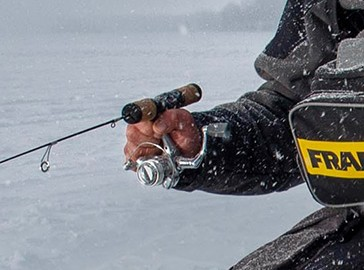 A cold-weather apparel program blends warmth, comfort and safety for ice-fishing enthusiasts.  Not