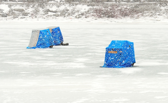 ice-fishing shelters