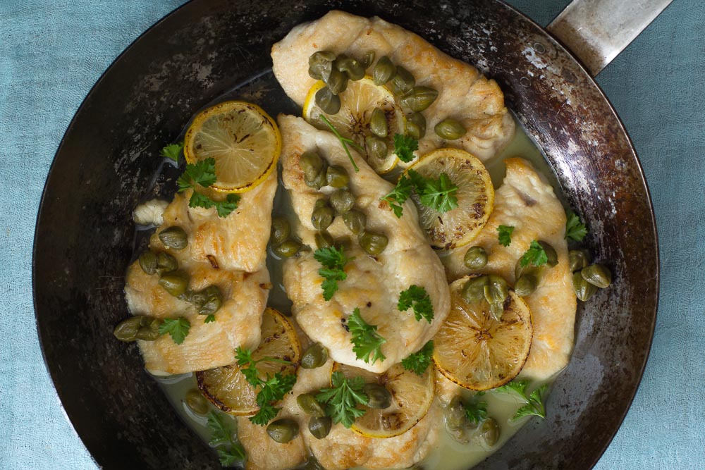 Pheasant Breast Piccata Recipe