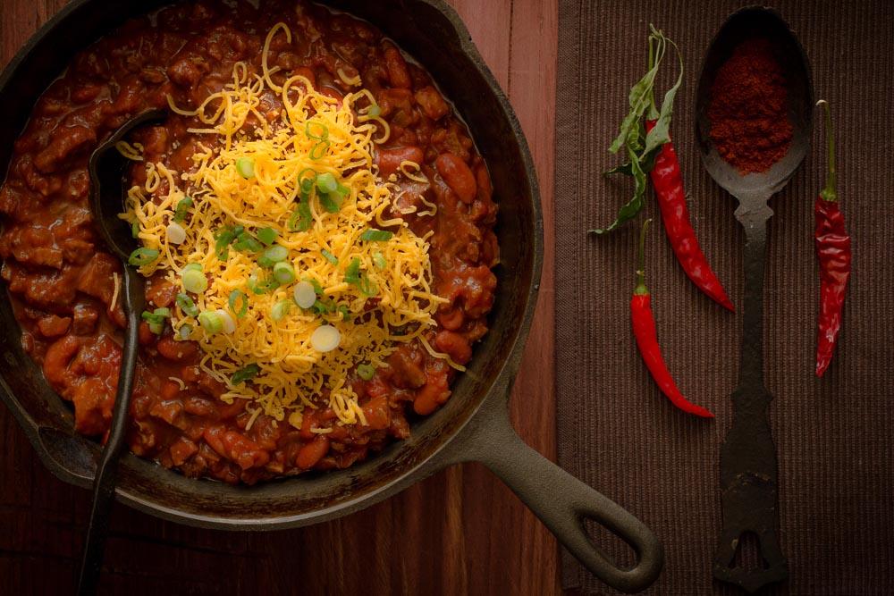 Spicy, Smoky Venison Chili Recipe