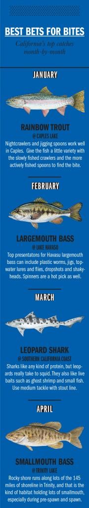 CA Fishing Calendar 1