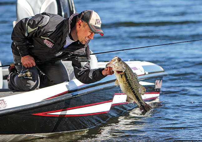 Cold Water Bass Fishing Feature