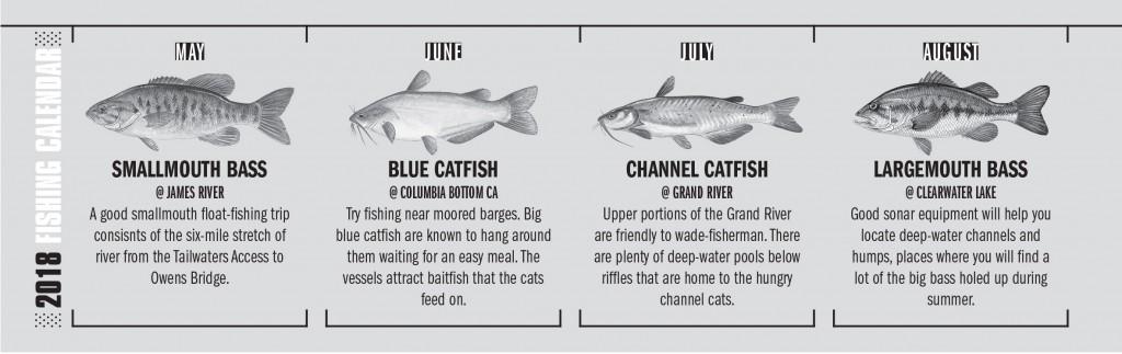 MO Fishing Calendar 2