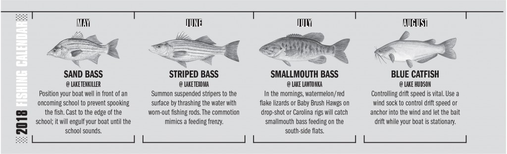 OK Fishing Calendar 2