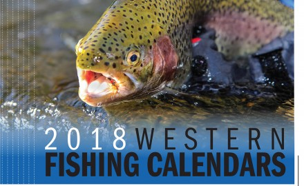 2018 Western Fishing Calendars