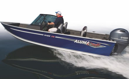 Photo courtesy of AlumaCraft  Game & Fish takes a closer look at the Alumacraft Voyageur 175