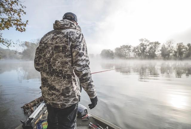 camo for fishing