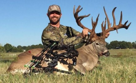 Travis D. Johnson admitted to taking the massive buck.