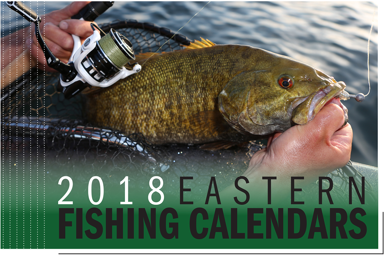 2018 Eastern Fishing Calendars