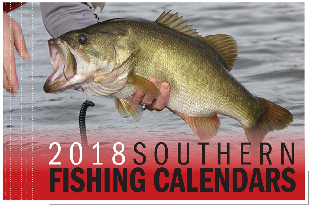 2018 southern fishing calendars game fish for Alabama game and fish