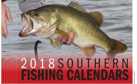 2018 Southern Fishing Calendar