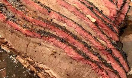 Central Texas Style Smoked Brisket Recipe