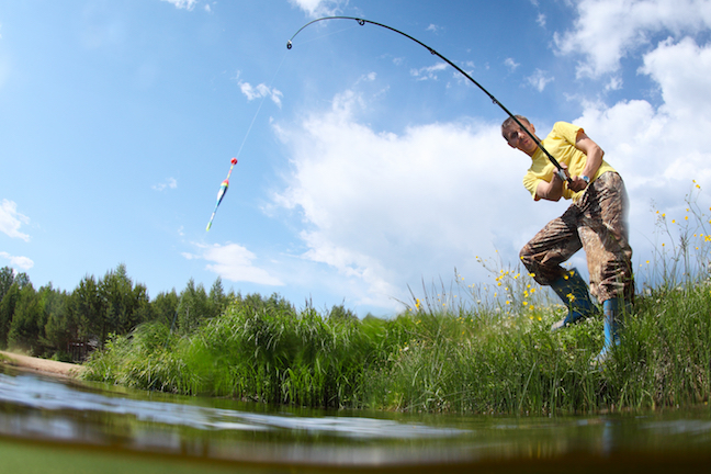 Bass pond fishing catch lunkers at small lakes near you for Stocked fishing ponds near me