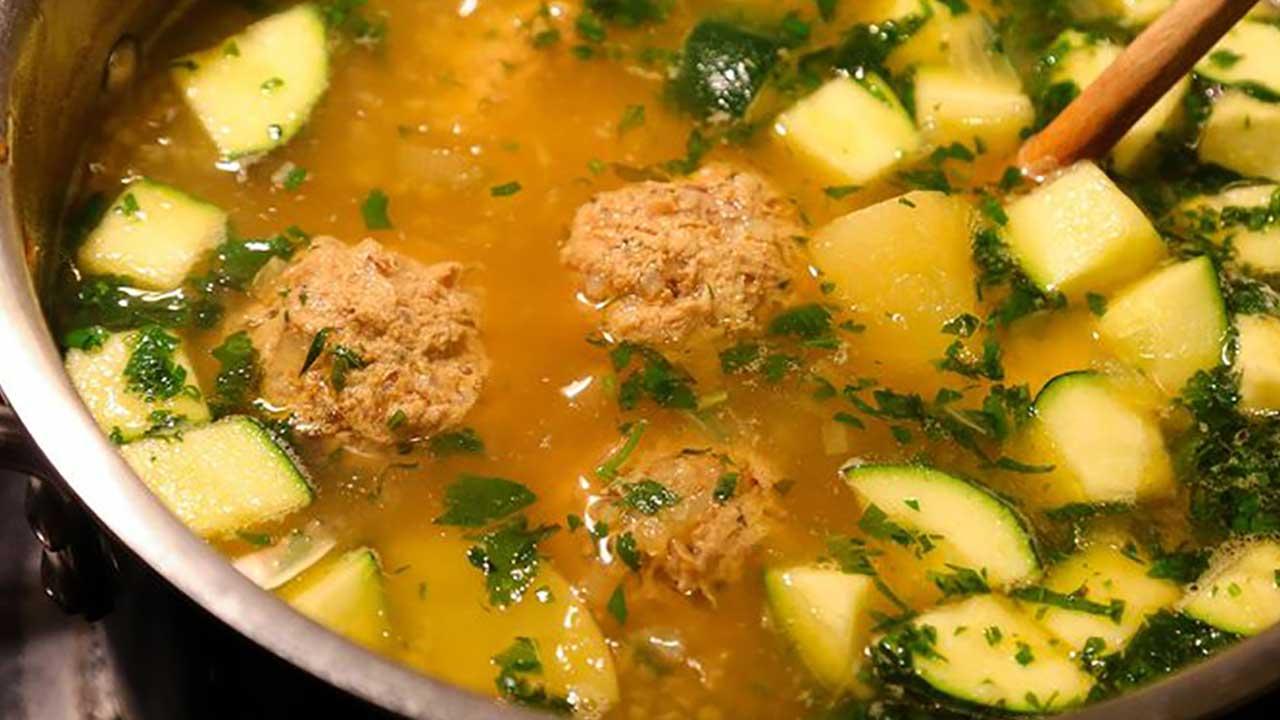 Wild Turkey Albondigas Soup Recipe