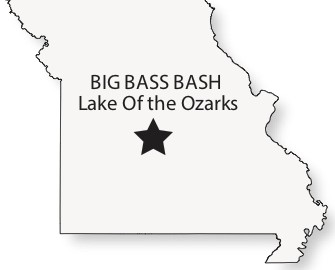 Lake of the Ozarks events offers prize money for big bass caught by local anglers.  Midwest Fish