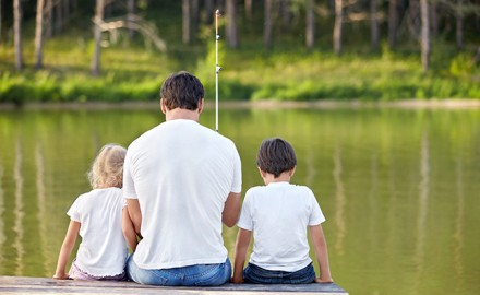 Fishing can add some excitement for all the members of the family regardless of your vacation