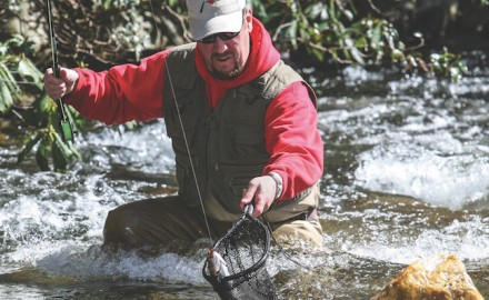 Fly-anglers excel tossing the usual assortment of stonefly and caddis fly nymphs. The best sizes
