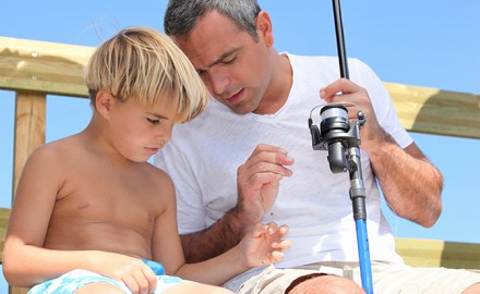 Taking kids fishing is more than just spending time with them; it's a way to really connect and