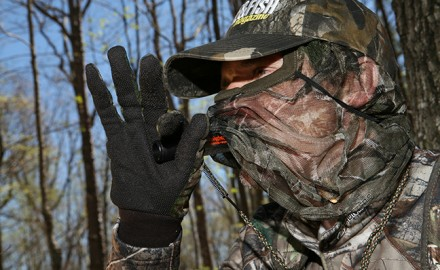 Scouting early to discover turkey travel patterns can be a key to a successful spring hunt. Photo